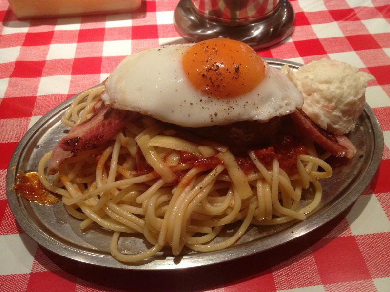 漢のスパゲッチィ、パンチョを喰らえ