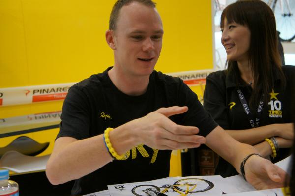 ツール・ド・フランス覇者、クリス・フルームと握手してきた!サイクルロード体験記