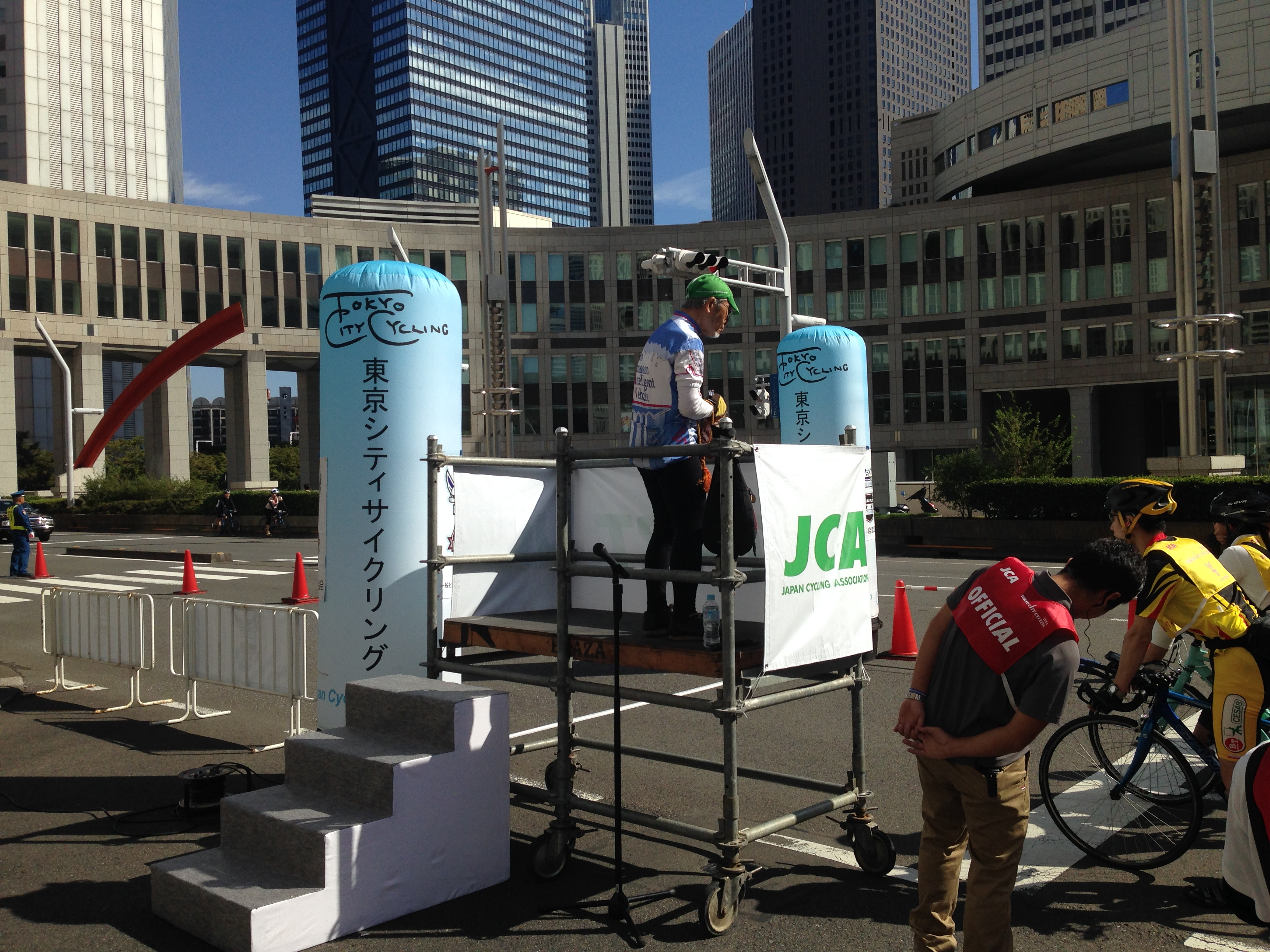 東京シティサイクリング2014走ってきた。と愚痴。