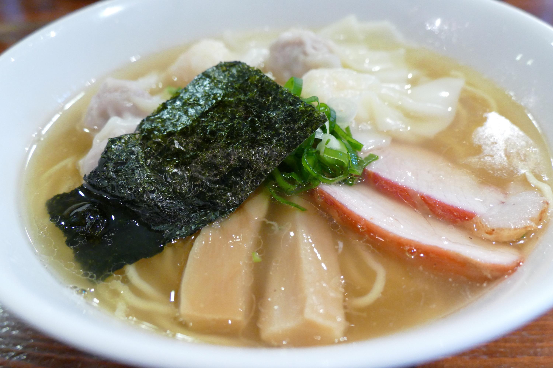 完璧なワンタン麺を池尻大橋 八雲で食す