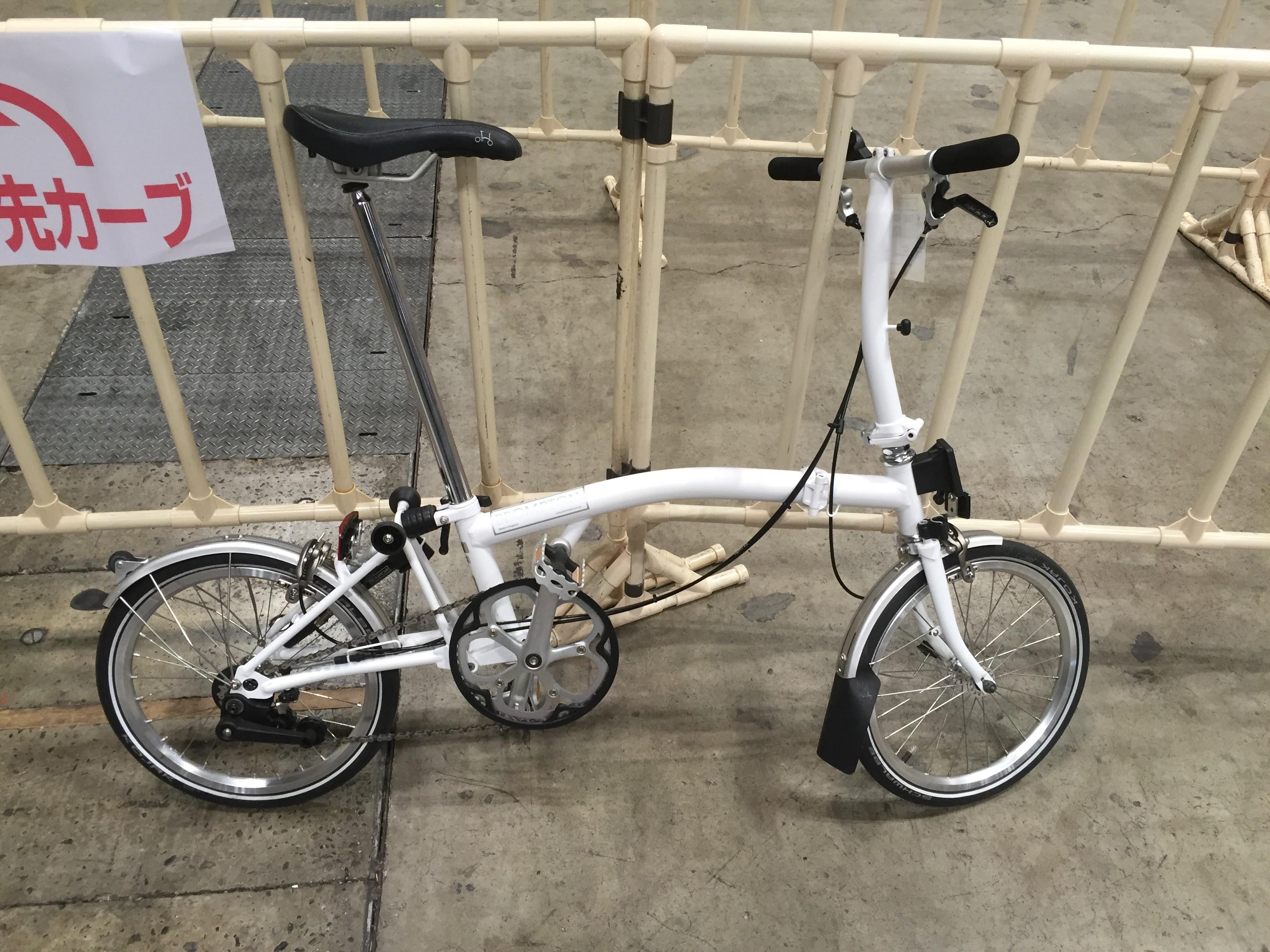 見て、持って、乗って、Bromptonの折りたたみ自転車が欲しくなりすぎる。